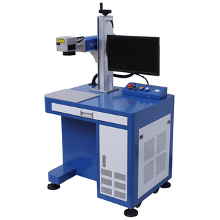 China Faser Lasergravurmaschine 30W für Metall
